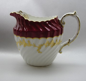 Aynsley #8155 Red Creamer - Small