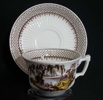 Adams Antoinette Cup & Saucer