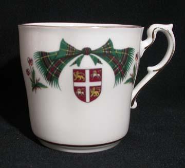 Royal Adderley Newfoundland Tartan Mug