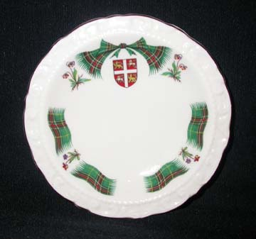 Royal Adderley Newfoundland Tartan Mint Dish
