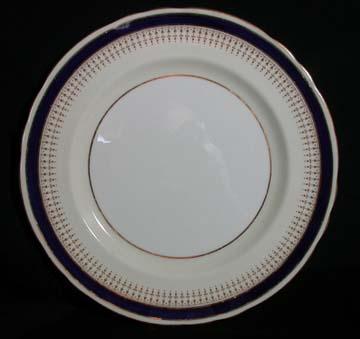 Aynsley #7301 - Cobalt Plate - Dinner
