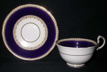 Aynsley #3736 Cup & Saucer