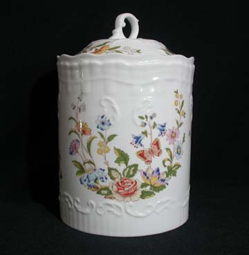 Aynsley Cottage Garden Cannister - Covered - Large