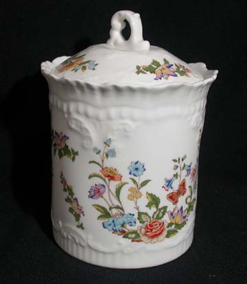 Aynsley Cottage Garden Cannister - Covered - Small