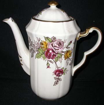 Adderley #H325 Coffee Pot & Lid - Large
