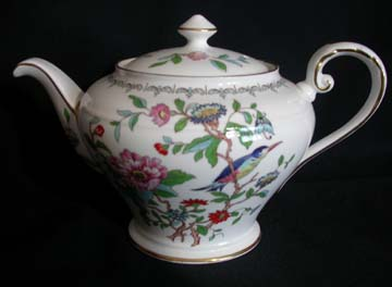Aynsley Pembroke Tea Pot & Lid - Small