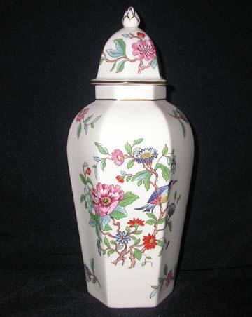 Aynsley Pembroke Vase With Lid