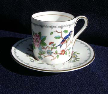 Aynsley Pembroke Cup & Saucer - Demitasse