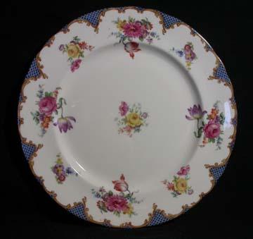 Aynsley Wilton - Blue - B971 Plate - Dinner