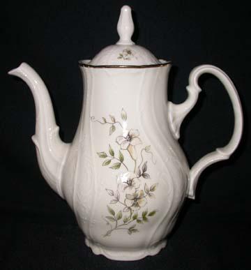 Bernadotte Blossom Coffee Pot & Lid - Large