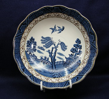 Booths Real Old Willow  A8025 Bowl - Cereal/Soup