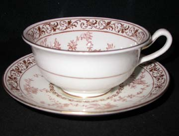 Cauldon Floral Melody V9808 Cup & Saucer