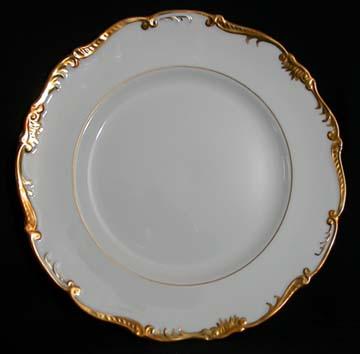 Coalport Admiral - Gold - 9359 Plate - Dinner