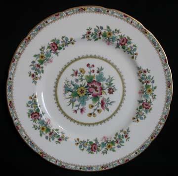 Foley Ming Rose Plate - Dinner