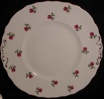Colclough Pattern # 7433 Plate - Cake/Handled