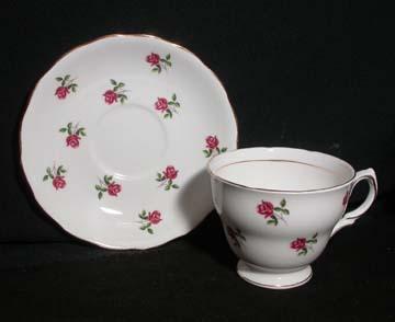 Colclough Pattern # 7433 Cup & Saucer