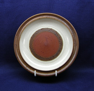 Denby Potters Wheel - Rust Red Plate - Bread & Butter