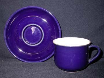 Denby Potpourri - Hue (Flowers) Cup & Saucer