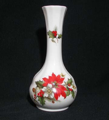 Duchess Poinsettia Bud Vase