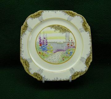 Paragon Garden Gate Plate - Bread & Butter