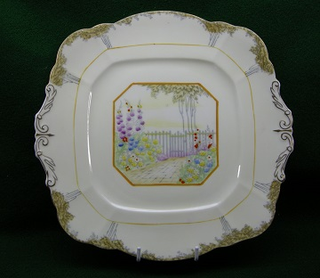 Paragon Garden Gate Plate - Cake Plate