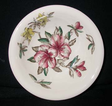 Johnson Brothers - Windsorware Azalea Bowl - Cereal/Soup
