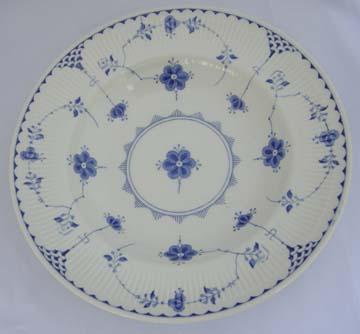 Johnson Brothers Denmark - Blue Bowl - Soup/Rim