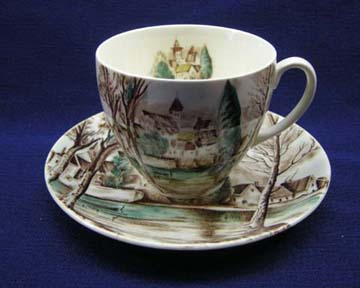 Johnson Brothers Dream Town Cup & Saucer