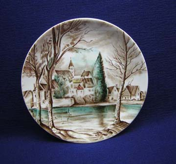 Johnson Brothers Dream Town Plate - Bread & Butter
