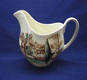 Johnson Brothers Dream Town Creamer - Large