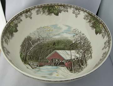 Johnson Brothers The Friendly Village Centerpiece Bowl