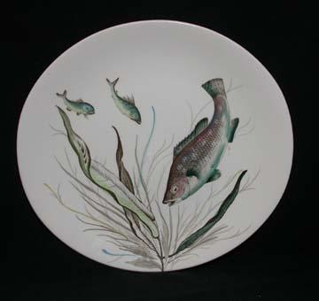 Johnson Brothers Fish  Plate - Design # 7