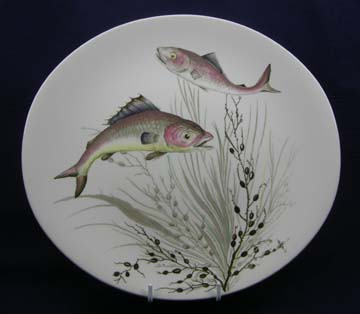 Johnson Brothers Fish  Plate - Design # 3