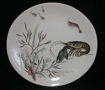 Johnson Brothers Fish  Plate - Design # 1