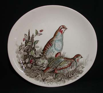 Johnson Brothers Game Birds Plate - Partridge