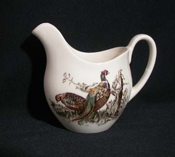 Johnson Brothers Game Birds Creamer - Large - Pheasant
