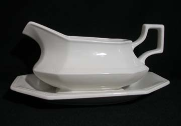 Johnson Brothers Heritage Gravy Boat & Underplate