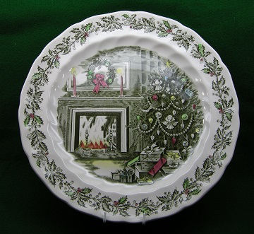 Johnson Brothers Merry Christmas Platter - Chop