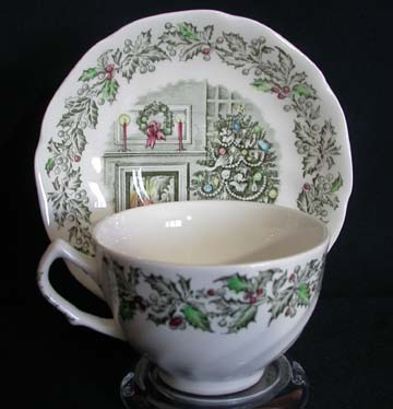 Johnson Brothers Merry Christmas Cup & Saucer