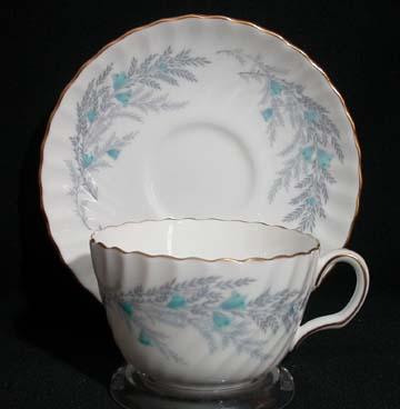 Minton Belbrachen Cup & Saucer