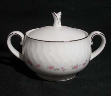 Noritake Cheri 6352 Sugar Bowl & Lid