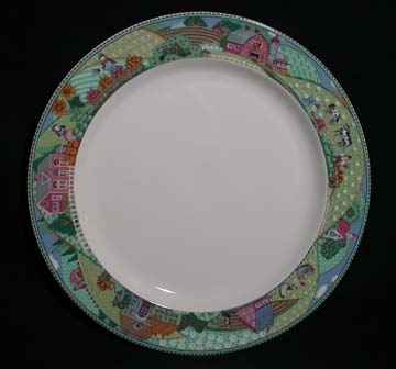 Noritake Country Fences #7920 Plate - Dinner