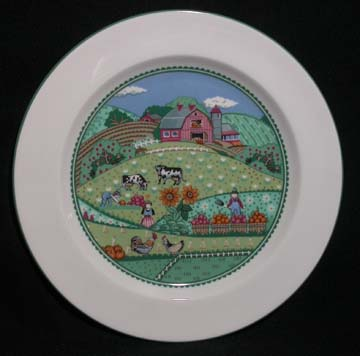 Noritake Country Fences #7920 Plate - Salad