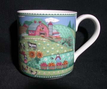 Noritake Country Fences #7920 Mug