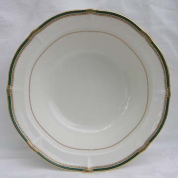 Noritake Gilded Emerald Vegetable/Fruit Bowl