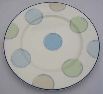 Noritake Java Blue  7994 Plate - Dinner