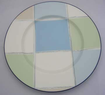 Noritake Java Blue  7994 Plate - Luncheon