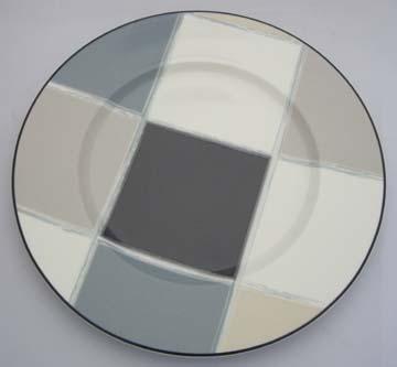 Noritake Java Graphite  7998 Plate - Luncheon