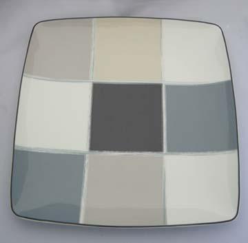 Noritake Java Graphite  7998 Plate - Dinner