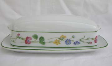 Noritake Meadowcrest  4034 Covered Butter